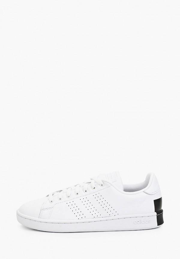 мужские низкие кеды adidas, белые