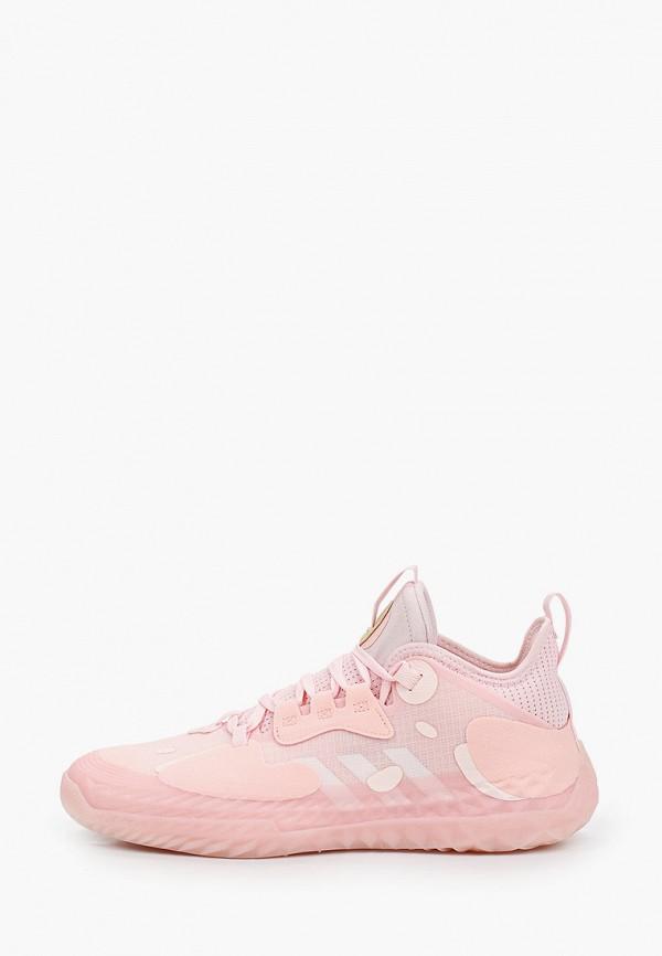мужские кроссовки adidas, розовые