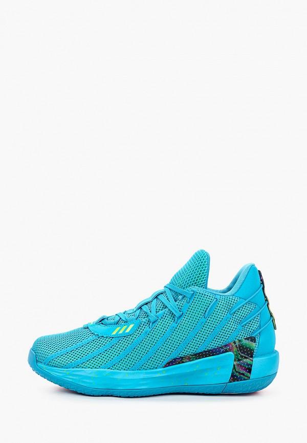 мужские кроссовки adidas, бирюзовые