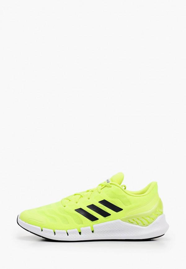 мужские кроссовки adidas, зеленые