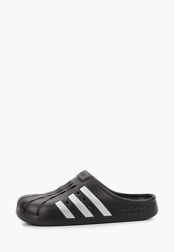 мужское сабо adidas, черное