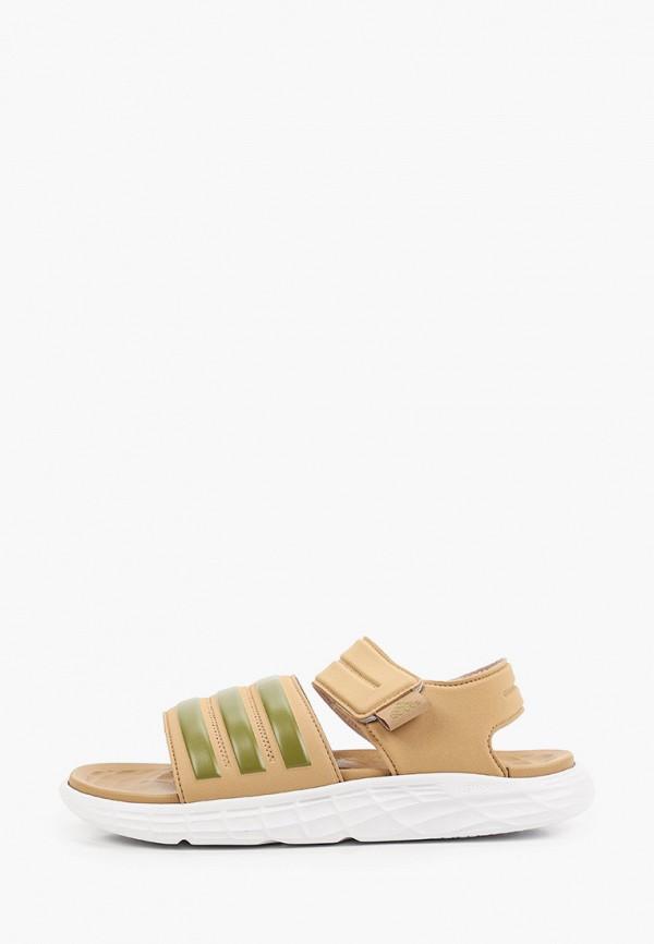 мужские сандалии adidas, коричневые