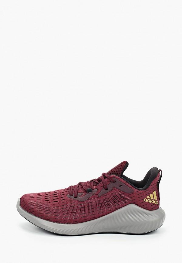 женские кроссовки adidas, бордовые