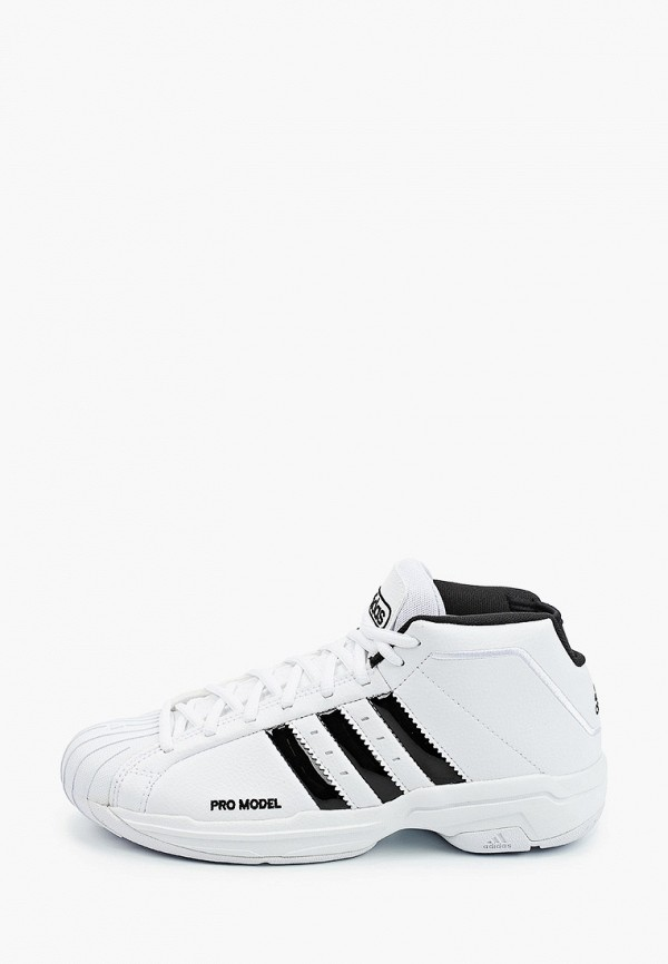 женские высокие кроссовки adidas, белые