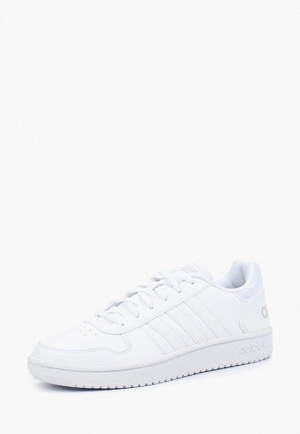 Фото - Кеды adidas белого цвета