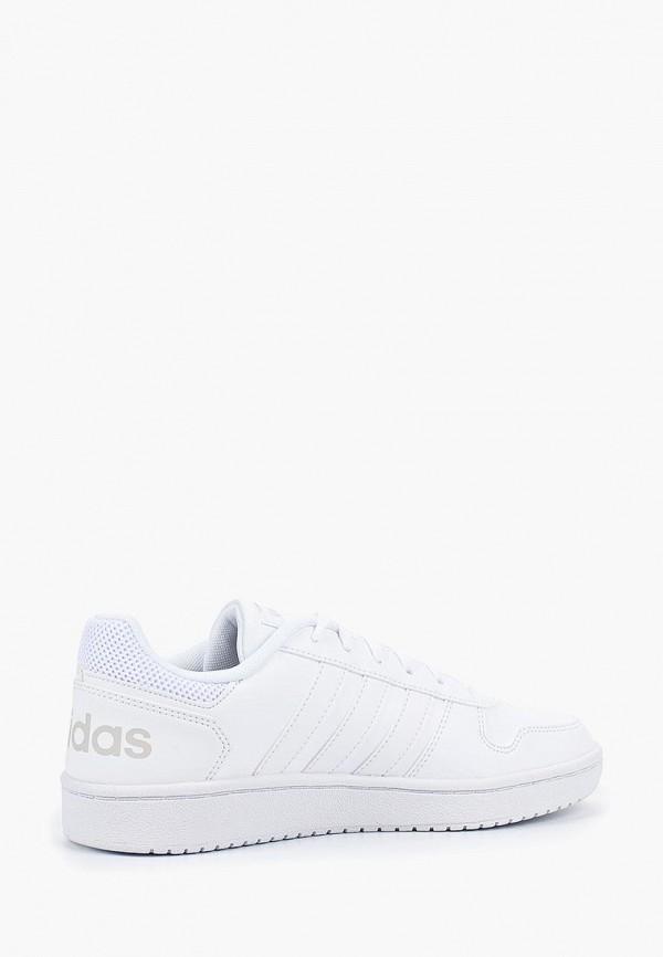 Фото 2 - Кеды adidas белого цвета