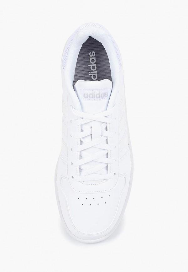 Фото 4 - Кеды adidas белого цвета