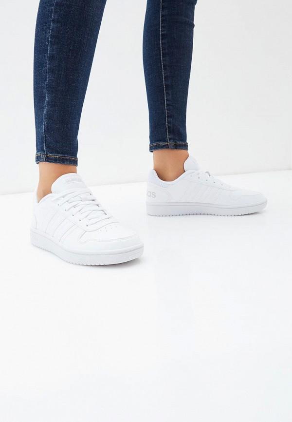 Фото 5 - Кеды adidas белого цвета