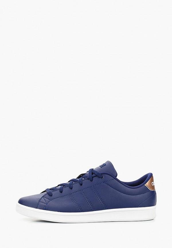 женские кеды adidas, синие