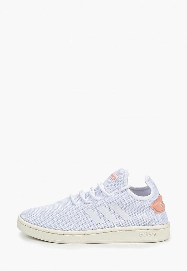 Купить Кеды adidas, COURT ADAPT, ad002aweegj4, белый, Весна-лето 2019