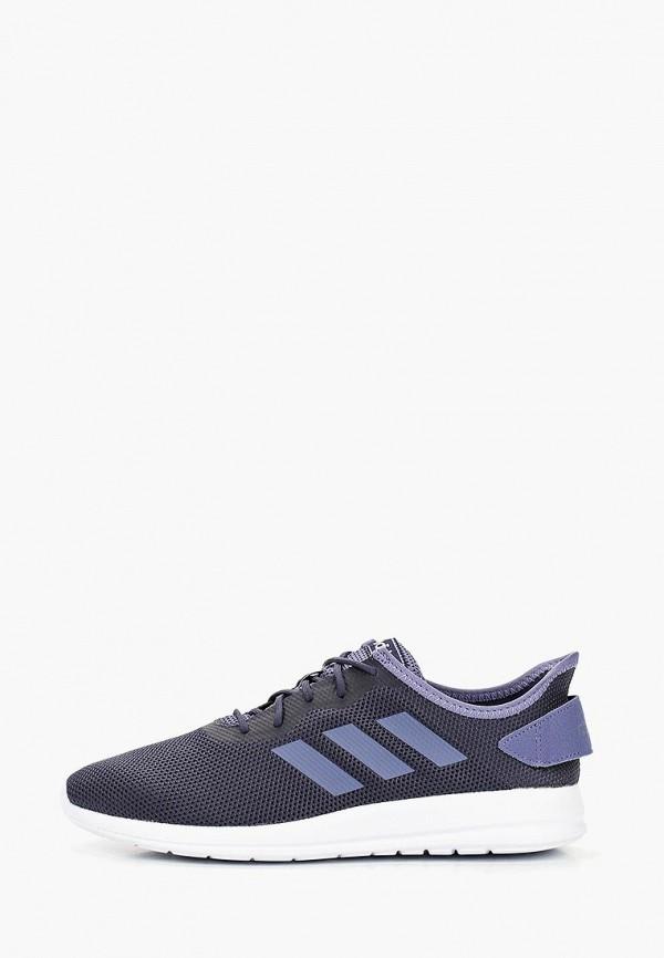 женские кроссовки adidas, синие