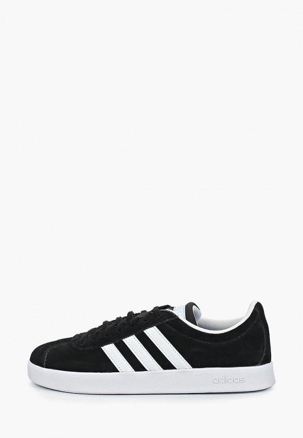 Купить Кеды adidas, VL COURT 2.0, ad002awegrk4, черный, Весна-лето 2019