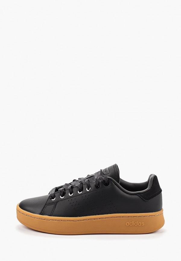 Купить Кеды adidas черного цвета