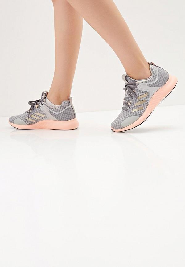 Фото 6 - женские кроссовки adidas серого цвета