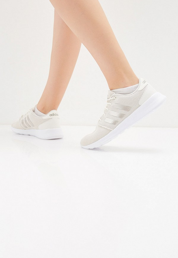 Фото 6 - женские кроссовки adidas белого цвета