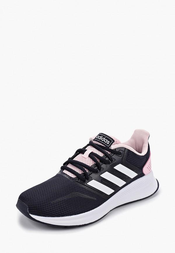 Фото 2 - женские кроссовки adidas синего цвета