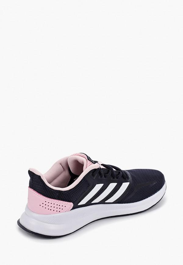 Фото 3 - женские кроссовки adidas синего цвета