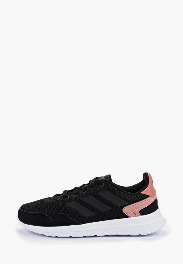 Фото - женские кроссовки adidas черного цвета