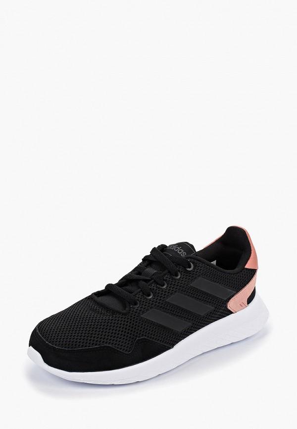 Фото 2 - женские кроссовки adidas черного цвета