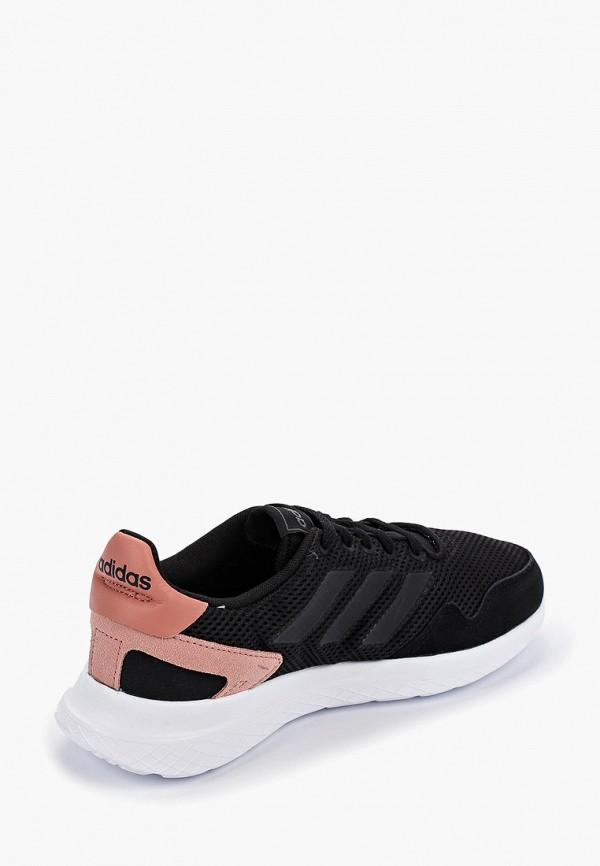 Фото 3 - женские кроссовки adidas черного цвета