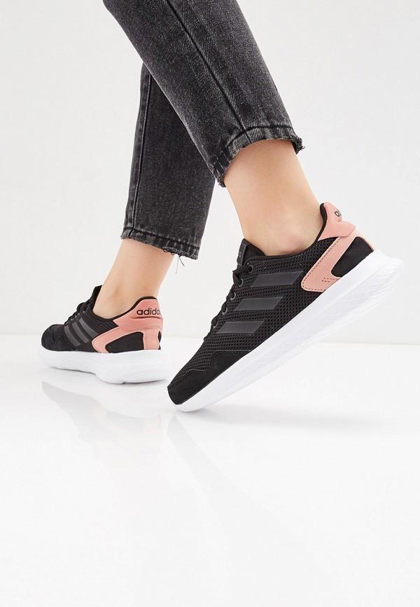 Фото 6 - женские кроссовки adidas черного цвета