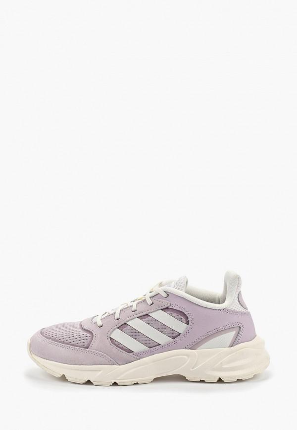 Купить Кроссовки adidas фиолетового цвета