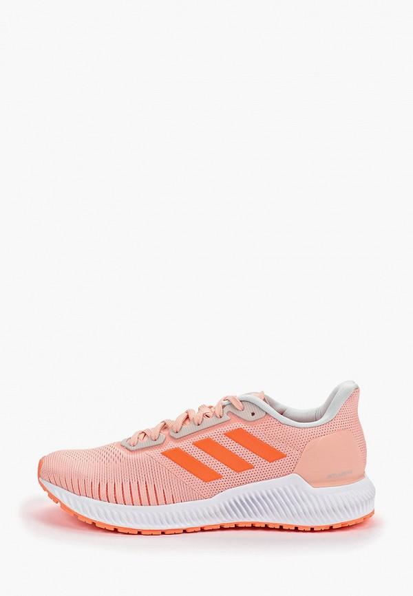 Фото - женские кроссовки adidas розового цвета
