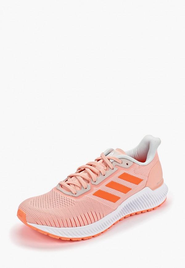Фото 2 - женские кроссовки adidas розового цвета