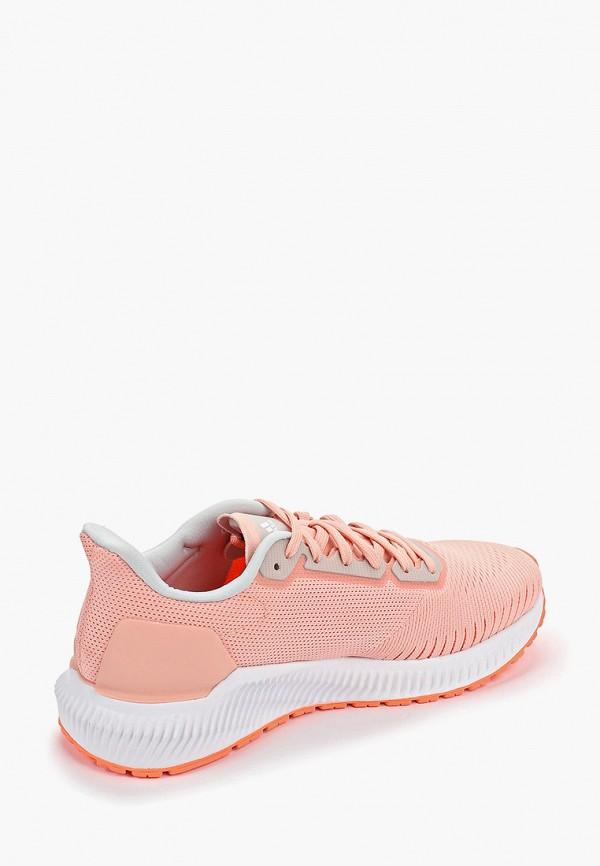 Фото 3 - женские кроссовки adidas розового цвета