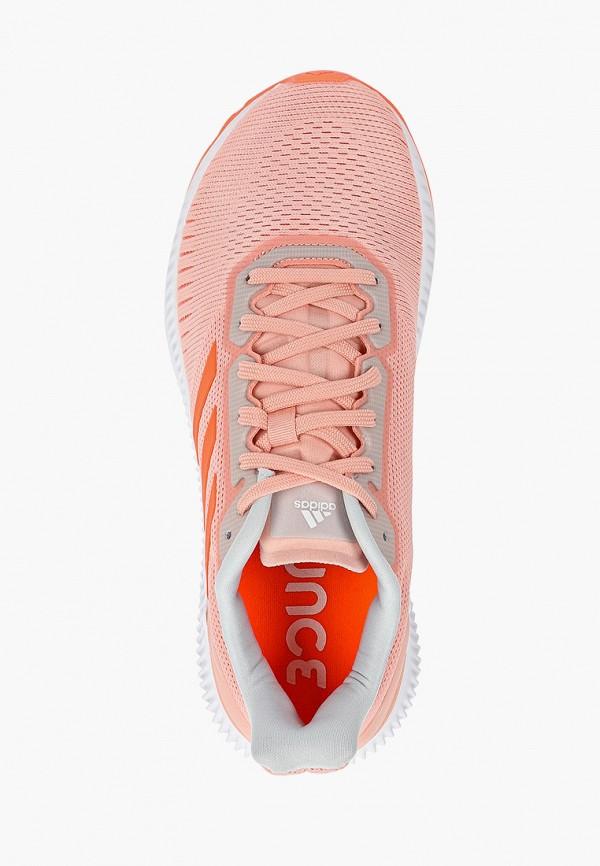 Фото 4 - женские кроссовки adidas розового цвета