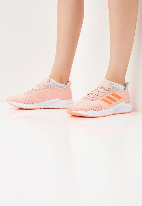 Фото 6 - женские кроссовки adidas розового цвета