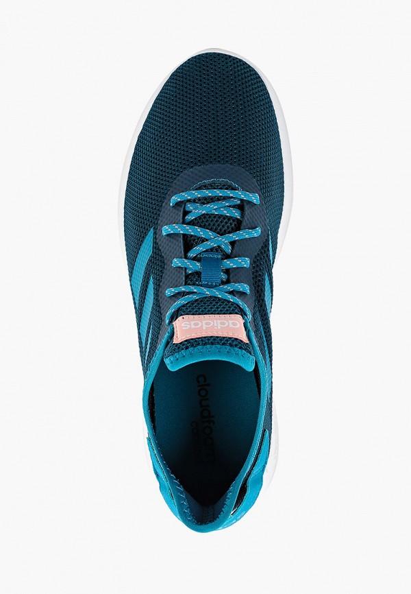 Фото 4 - Кроссовки adidas бирюзового цвета