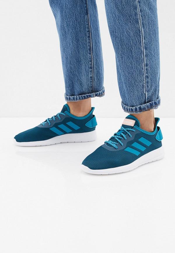 Фото 6 - Кроссовки adidas бирюзового цвета