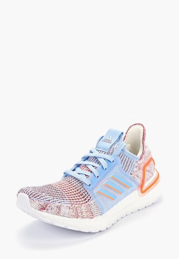 Фото 2 - женские кроссовки adidas разноцветного цвета