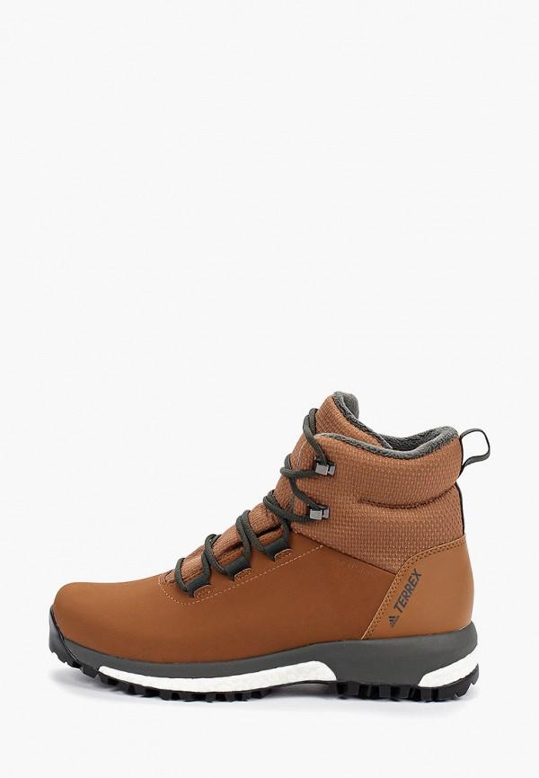 Фото - женские ботинки и полуботинки adidas коричневого цвета