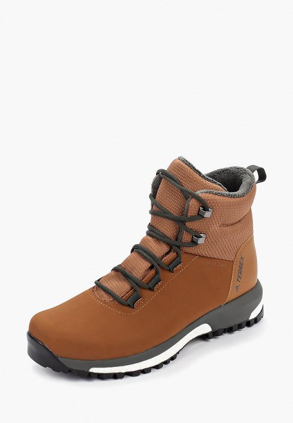 Фото 2 - женские ботинки и полуботинки adidas коричневого цвета