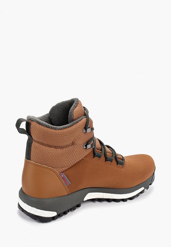 Фото 3 - женские ботинки и полуботинки adidas коричневого цвета