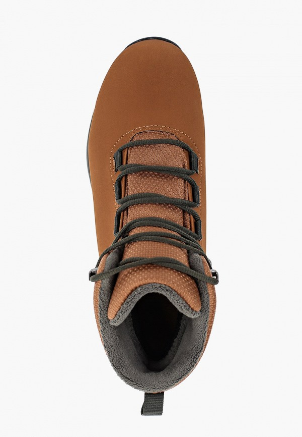 Фото 4 - женские ботинки и полуботинки adidas коричневого цвета