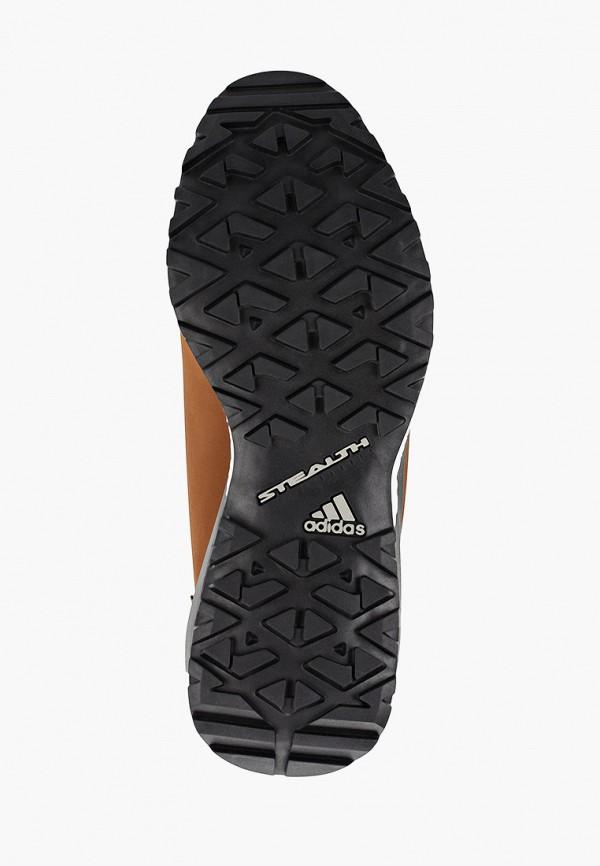 Фото 5 - женские ботинки и полуботинки adidas коричневого цвета