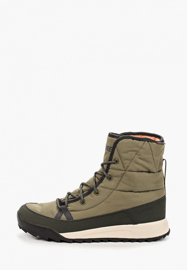 женские ботинки adidas, хаки