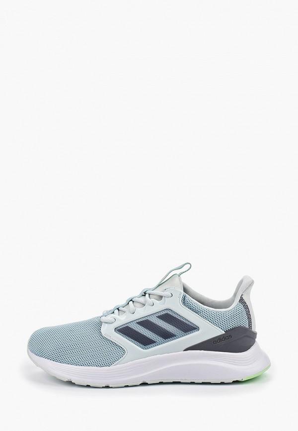 женские кроссовки adidas, голубые