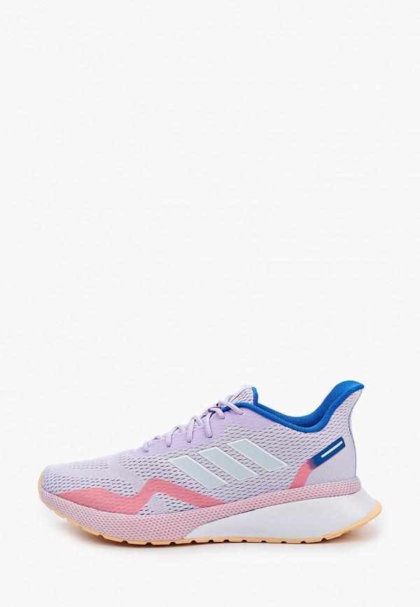 женские кроссовки adidas, фиолетовые