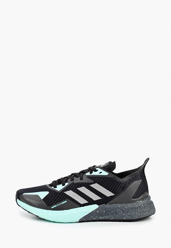 женские кроссовки adidas, черные