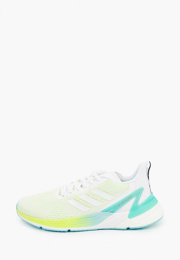 женские низкие кроссовки adidas, зеленые