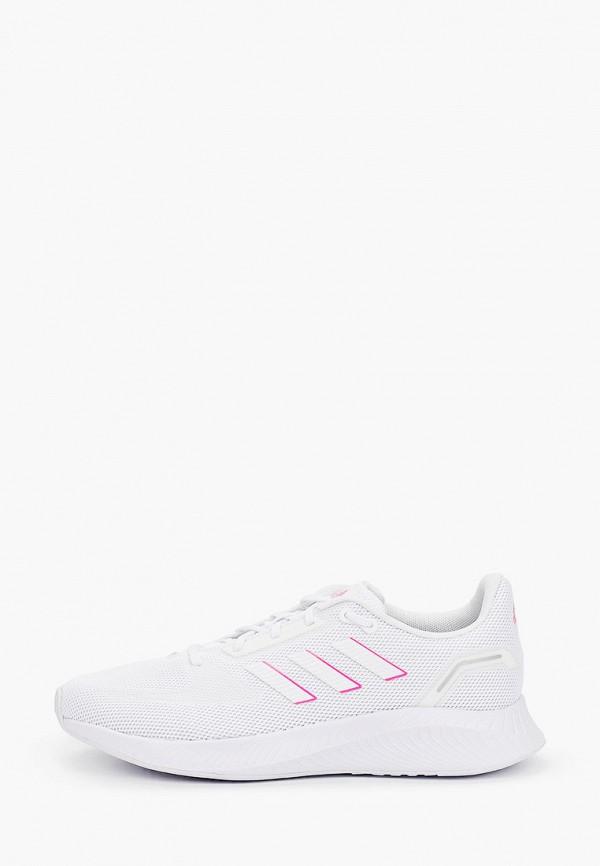 женские низкие кроссовки adidas, белые