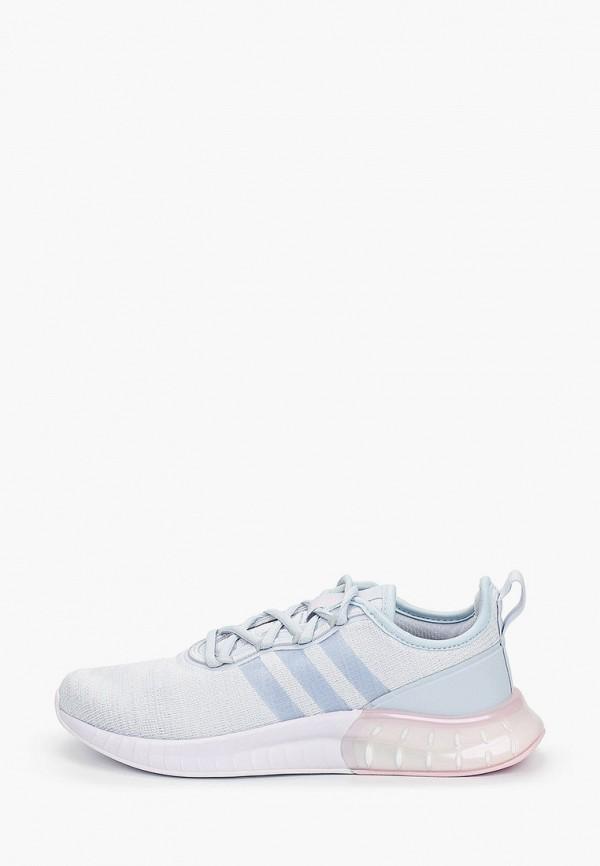 женские низкие кроссовки adidas, голубые