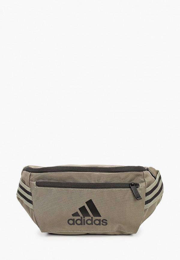мужская сумка adidas, хаки