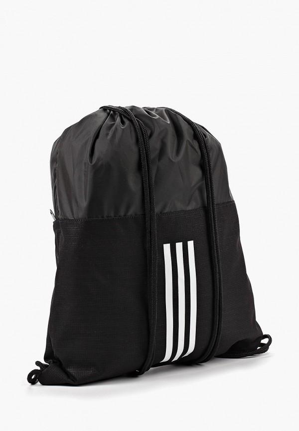 Фото 2 - Мешок adidas черного цвета