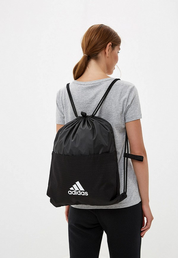 Фото 4 - Мешок adidas черного цвета