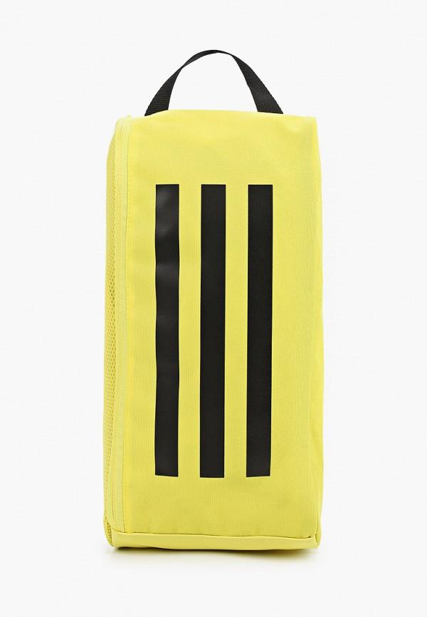 женская спортивные сумка adidas, желтая